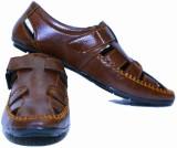 Loddx Men Dark Brown Sandals