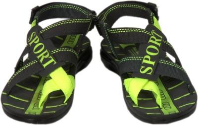 Fuoko Men, Boys Green Sandals