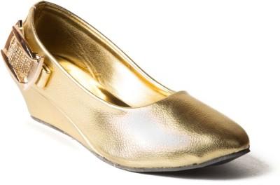 Babes Girls Gold Sandals