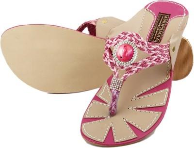 Anupamaa Kolapuri Pink Women Pink Flats