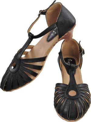 Ajanta Women Black Heels