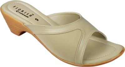 Florish Women White Heels