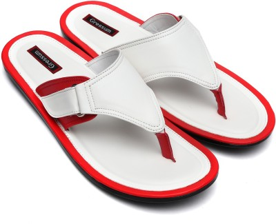 Gressum Men White Sandals