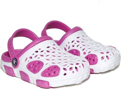 Craze Shop Girls, Boys White Sandals