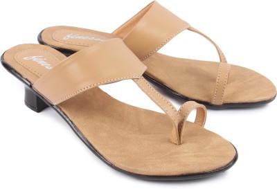 Finesse Women Beige Heels