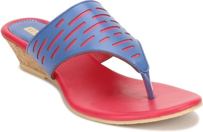 Yepme Women Blue, Red Heels