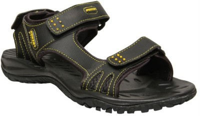 Power Baby Boys Black Sandals