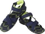 Vivaan Footwear Men Blue Sandals