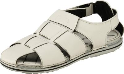 Ronaldo Men White Sandals