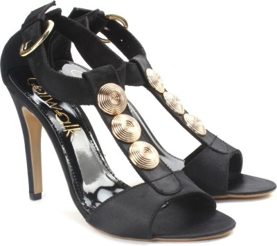 Catwalk Women Black Heels