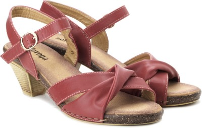 Solovoga Kaicom-2 Women Red Heels