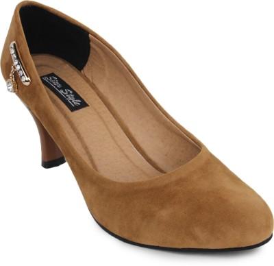 Star Style Women Brown Heels