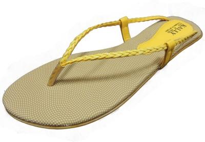 Kally Women Yellow Flats