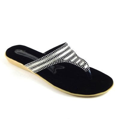 INDIANO Women Silver Flats