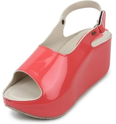 Cara Mia Women Pink Wedges
