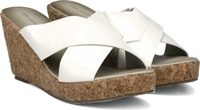 MFT Couture Women White Wedges at flipkart