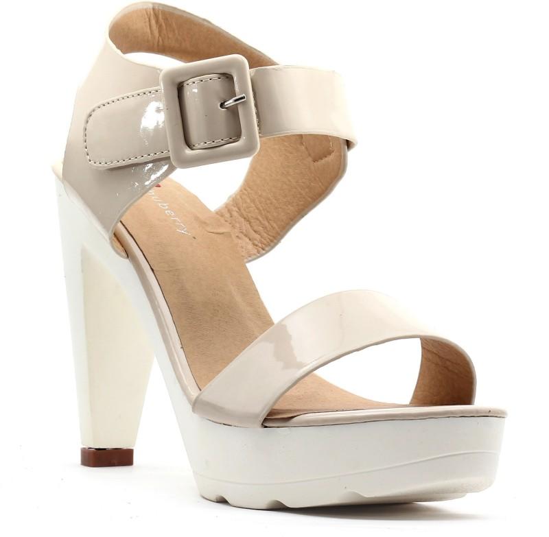 Shuberry Women Beige Heels