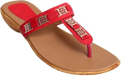 2Dost Women Red Flats