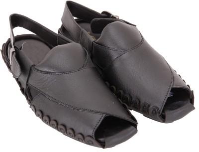 Mori Men Black Sandals