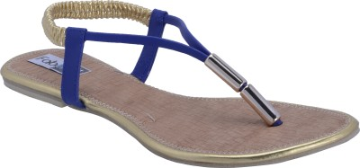 Fabme Awesome Women Blue Flats
