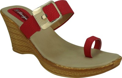 Sandhills Women Red Wedges