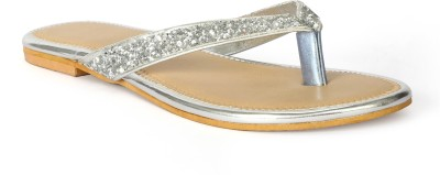 Tic Tac Toe Women Silver, Silver Flats