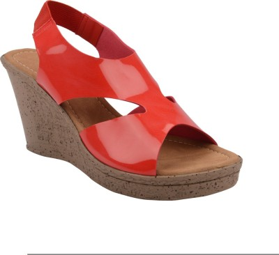 Chicopee Women Red Wedges
