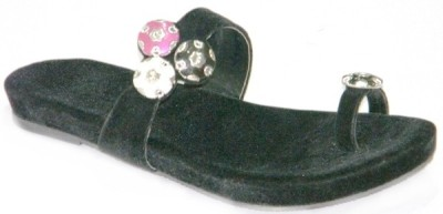 BellaToes BellaToes Flats Casual and Party Designer Sandal Girls, Women Black Flats