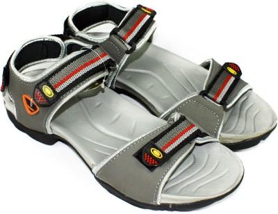 Maayas Men Grey Sandals