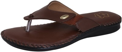 Leather Land Women Brown Flats