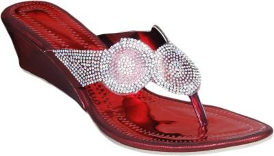 Styleon India Women Red Wedges