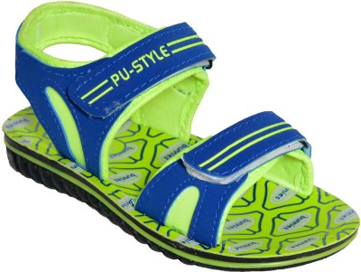 BUNNIES Boys Green Sandals