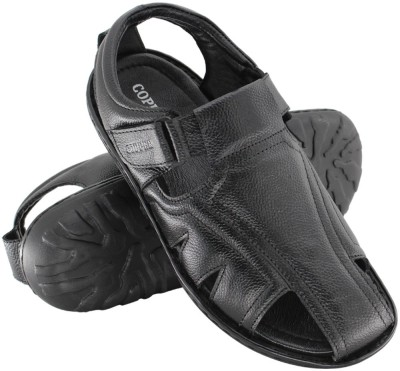 Copper C-7305 Men Black Sandals