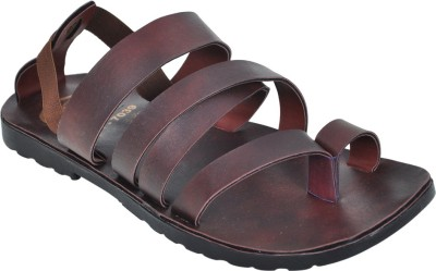 Domestiq Men Brown Sandals