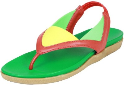 Small Toes Baby Girls Red Sandals