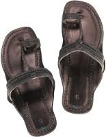 Ekolhapuri Women Black Flats