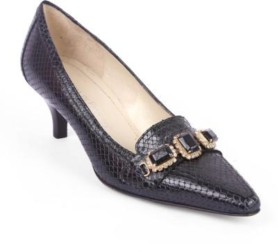 Moda Di Fausto Women Black Heels