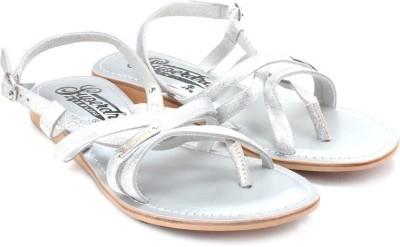 Superdry Basic Women Silver Flats