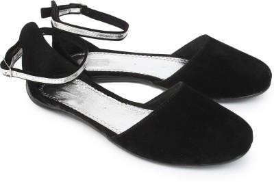HANSFOOTNFIT Women Black Flats