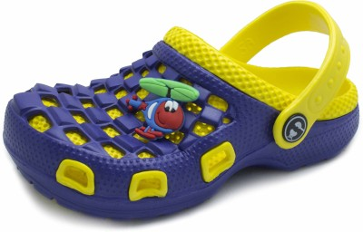 PHEDARUS Baby Boys Blue, Yellow Sandals