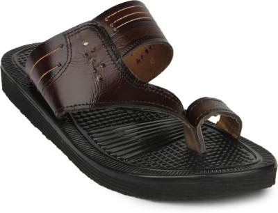 Do Bhai Kolapuri-33666 Men Brown Sandals