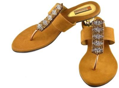Gressum Women Tan Heels