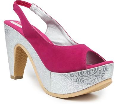 Butterfly Women Pink Heels