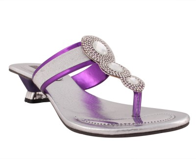 Sapyork Women Purple Heels