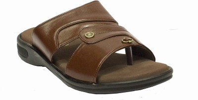 Shan Health Life Men Brown Sandals