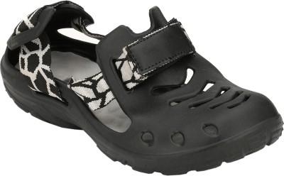 HNT Boys Black Sandals