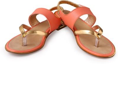 Bonzer Women Orange Flats