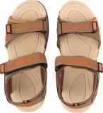 Frestol Men Orange Sandals