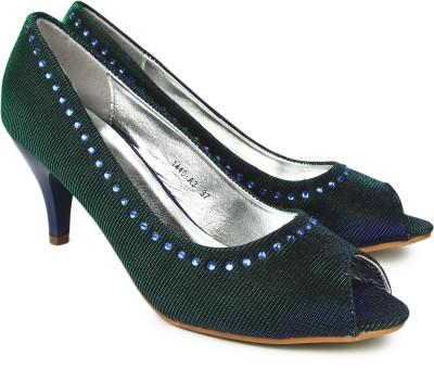 Jove Women Green Heels