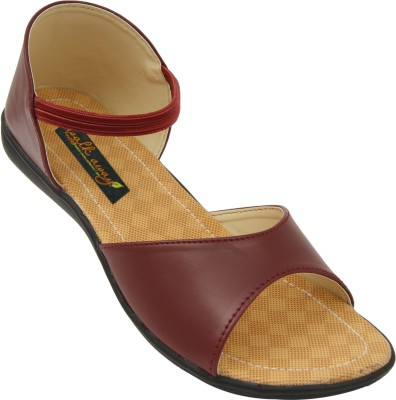 Walkaway Women Brown Flats